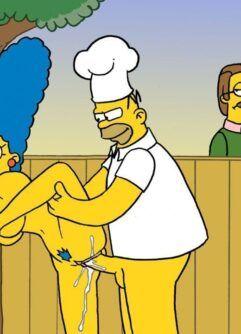 Simpsons Desenhos Pornô