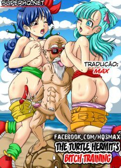 Bulma: No treinamento sexual do velho da Tartaruga