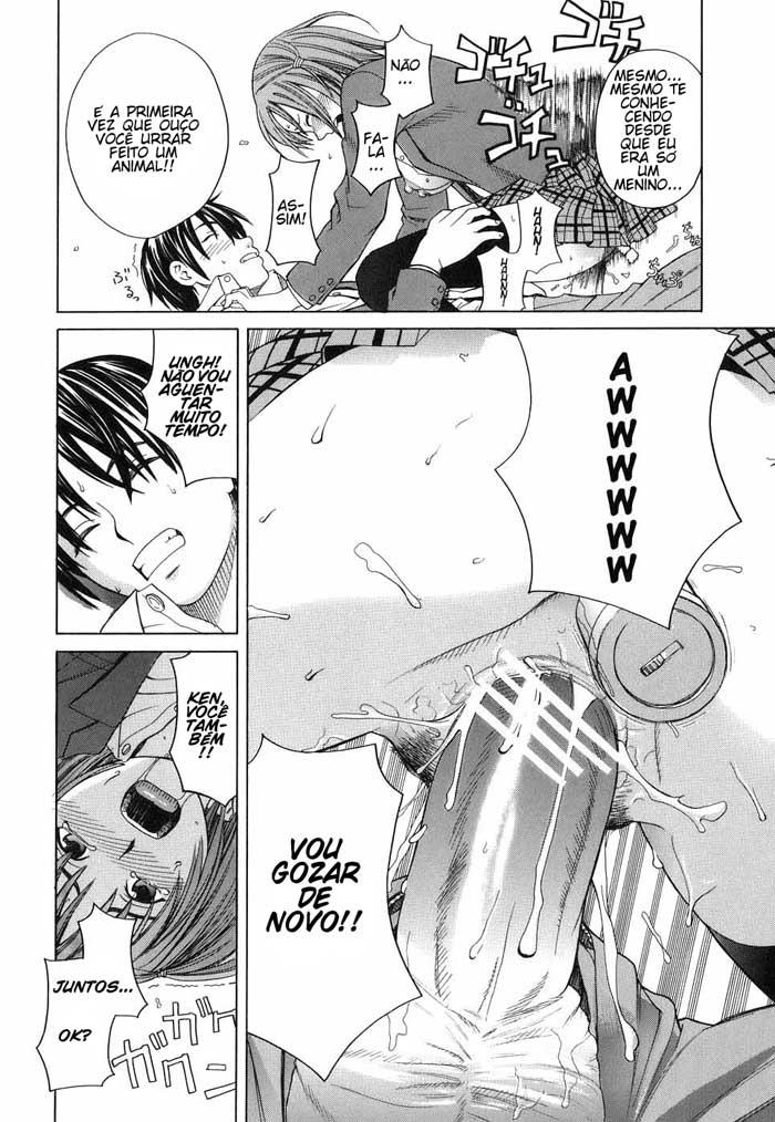 O primeiro anal de Mihiro - Foto 24