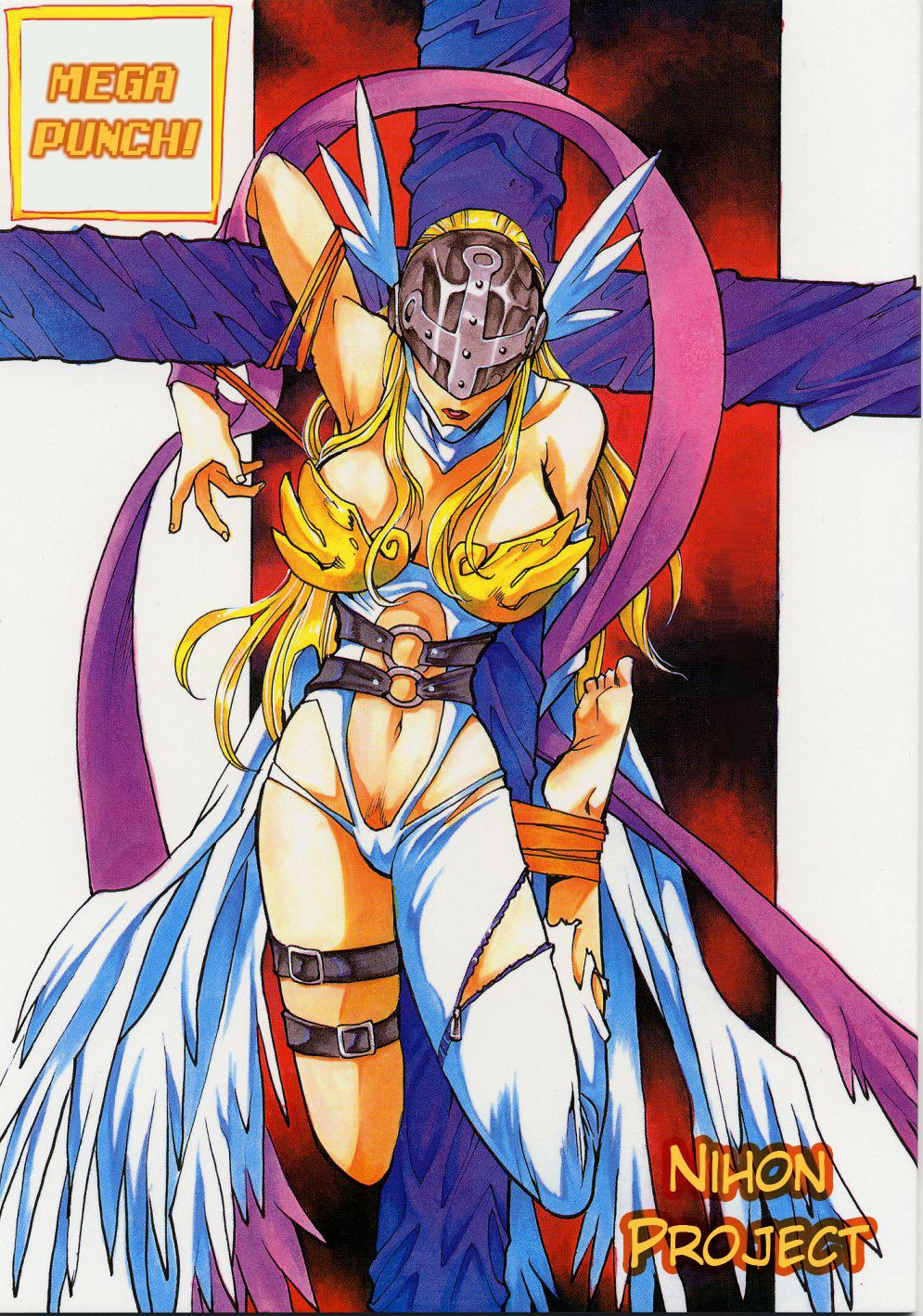 Digimon Hentai Pornô: O anjo caído - Foto 1