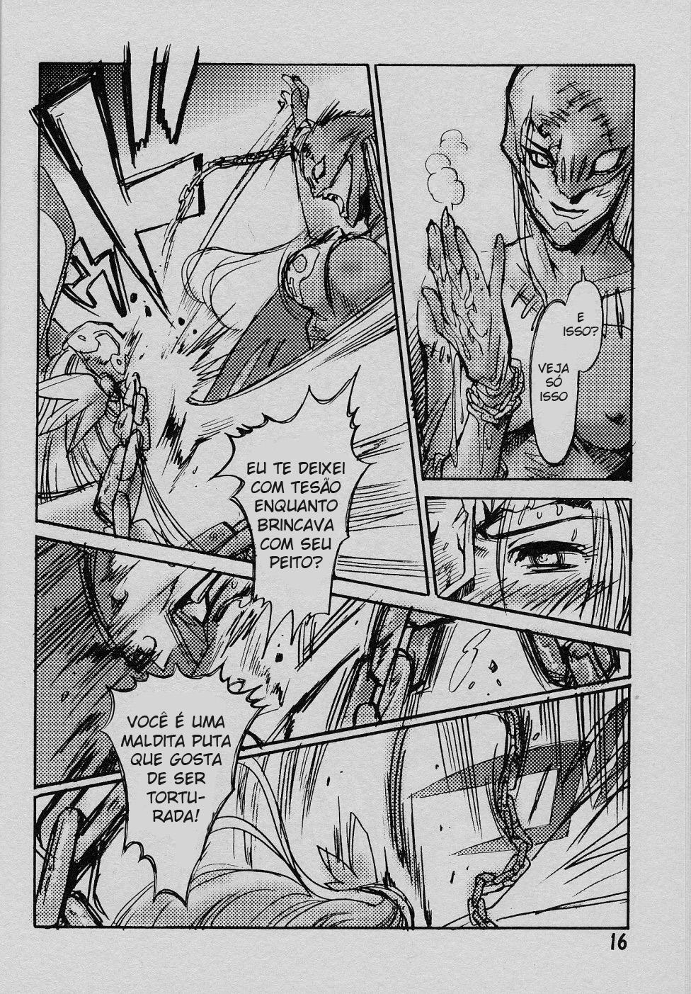 Digimon Hentai Pornô: O anjo caído - Foto 15