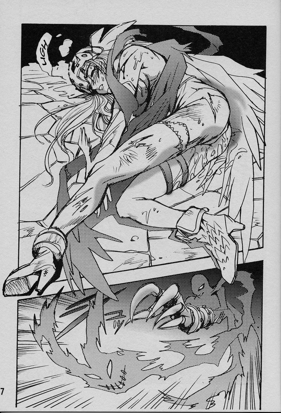 Digimon Hentai Pornô: O anjo caído - Foto 16