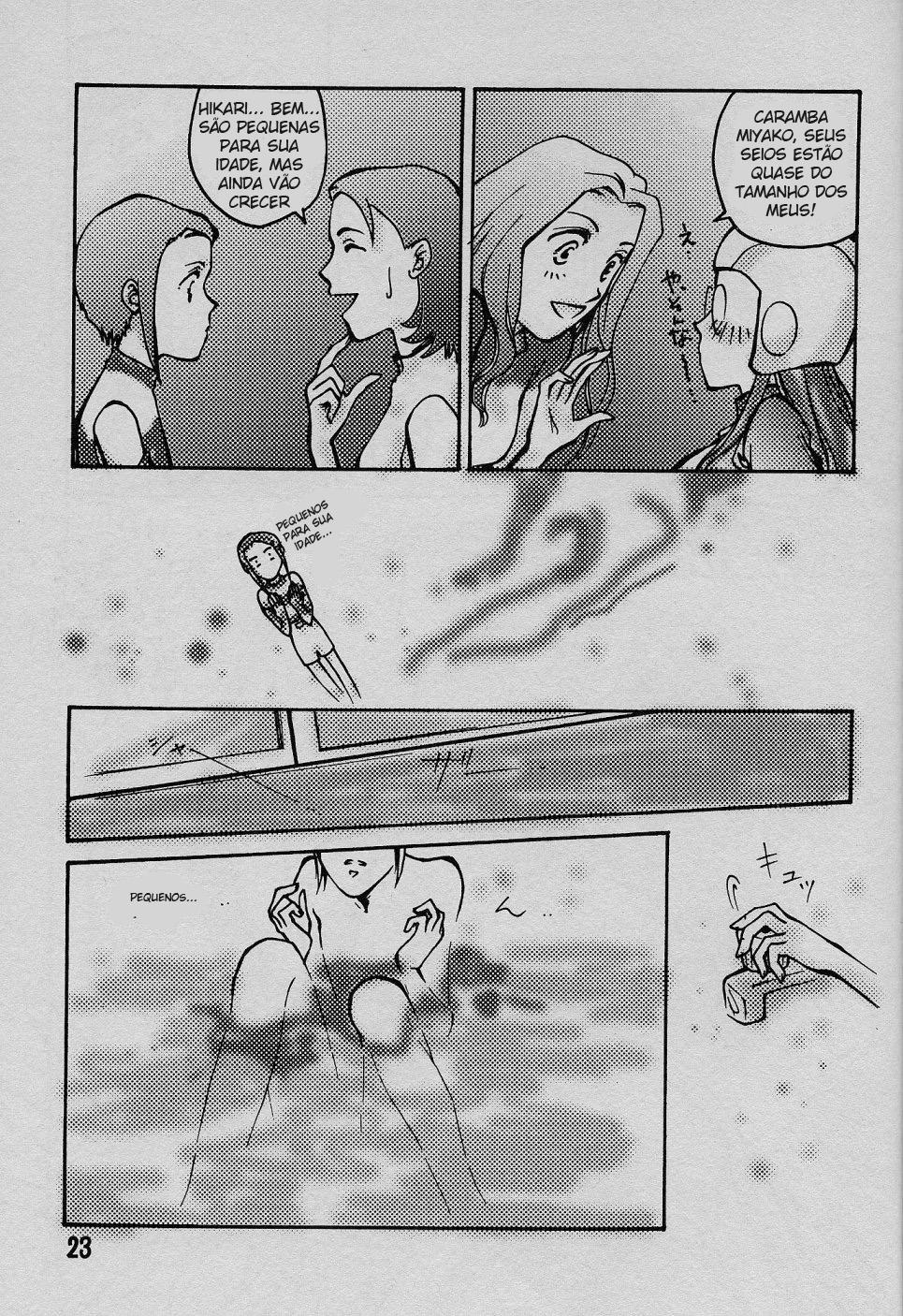 Digimon Hentai Pornô: O anjo caído - Foto 22