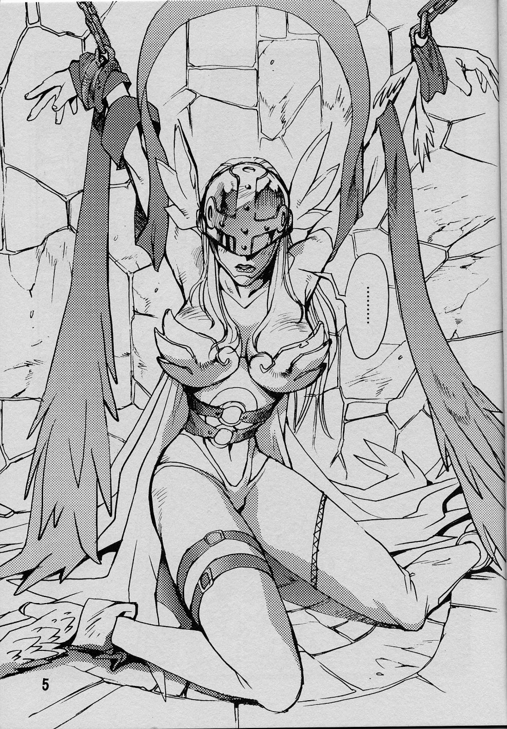 Digimon Hentai Pornô: O anjo caído - Foto 4
