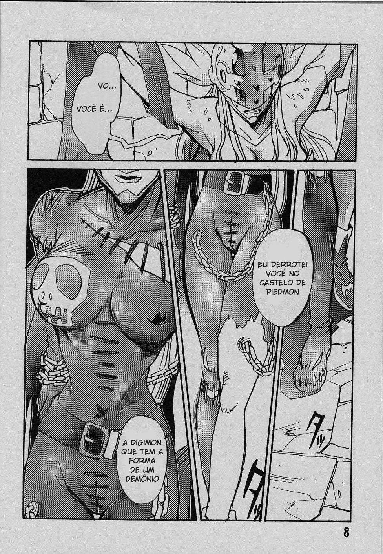 Digimon Hentai Pornô: O anjo caído - Foto 7