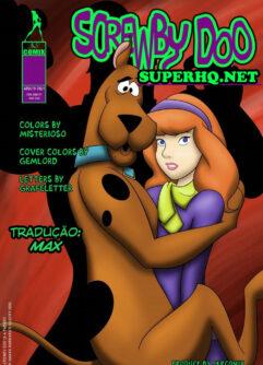Scooby Doo tira à virgindade de Daphne