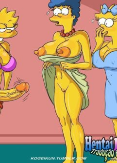 As futas dos Simpsons