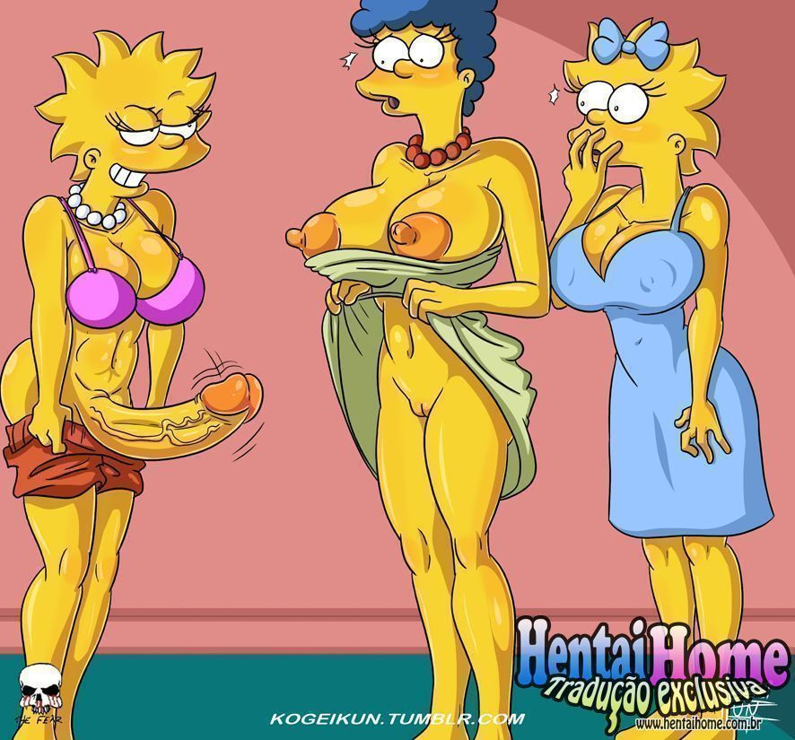 As futas dos Simpsons - Foto 1