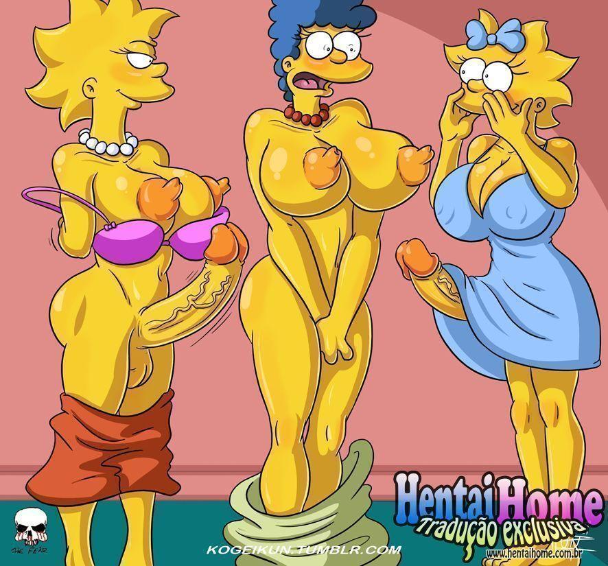 As futas dos Simpsons - Foto 2