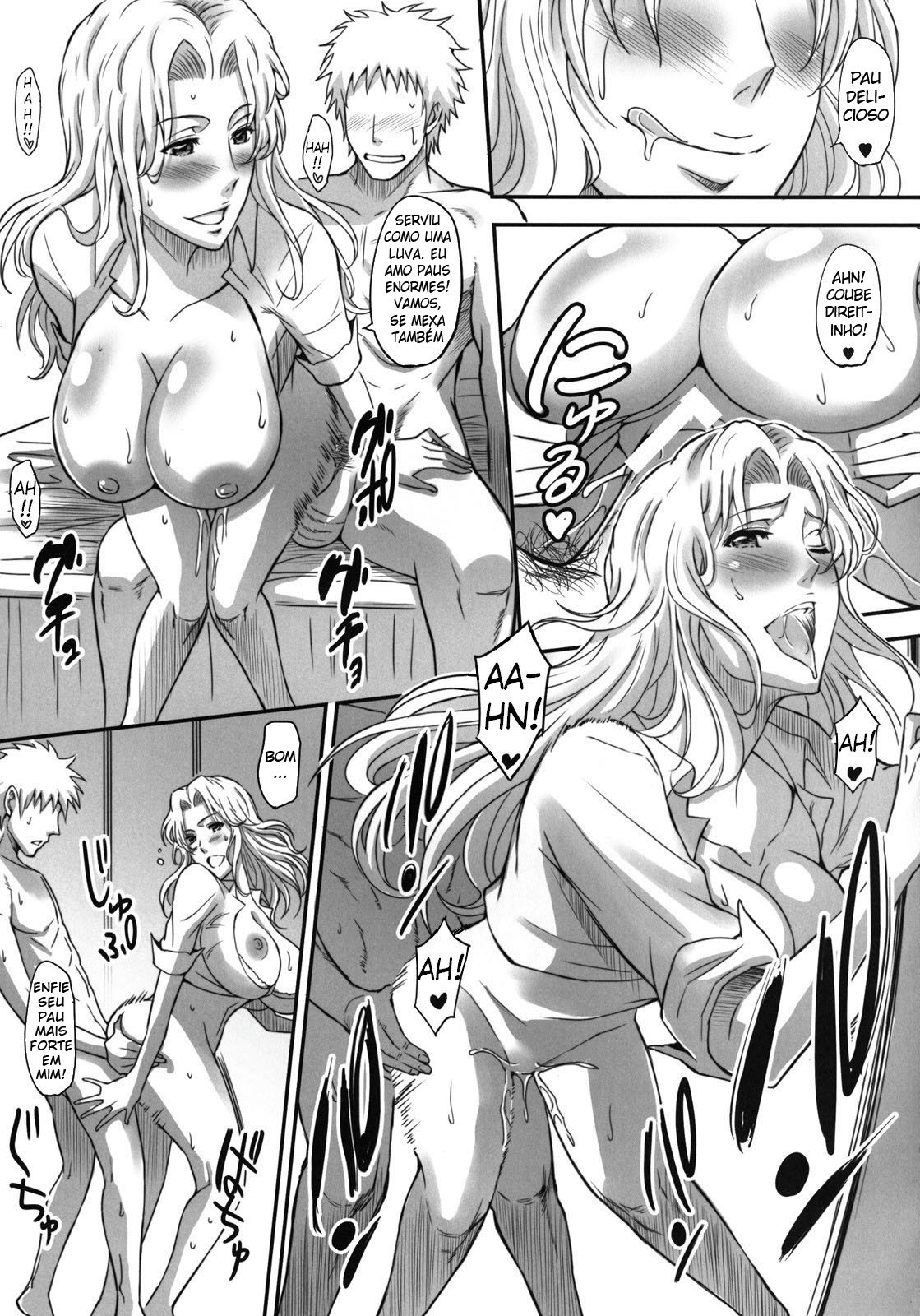 Bleach Pornô: Shinigamis com orgasmos - Foto 14