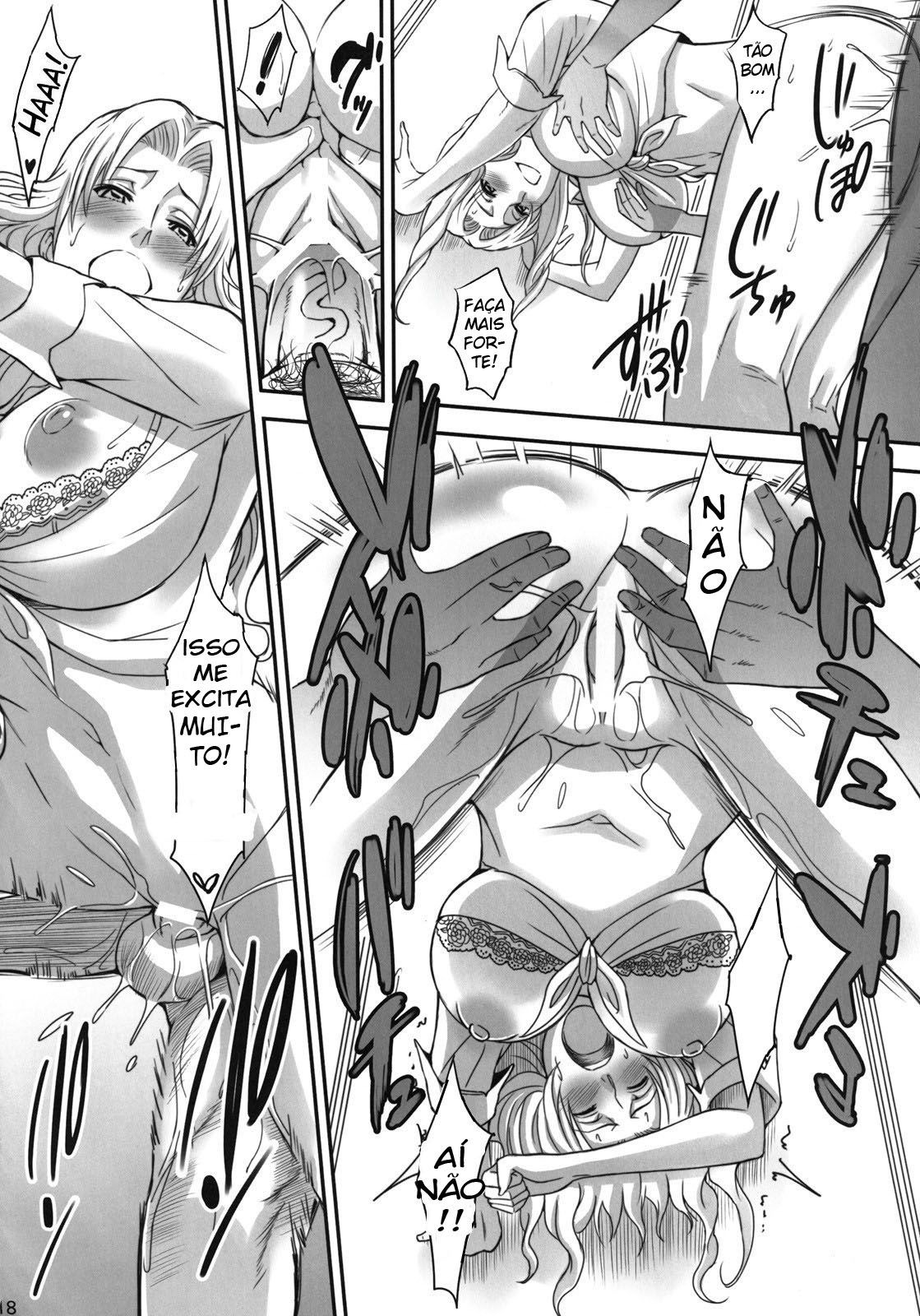 Bleach Pornô: Shinigamis com orgasmos - Foto 15