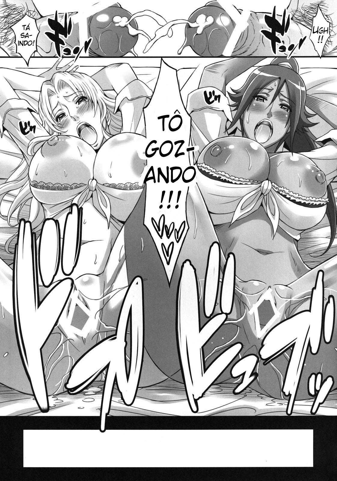 Bleach Pornô: Shinigamis com orgasmos - Foto 20