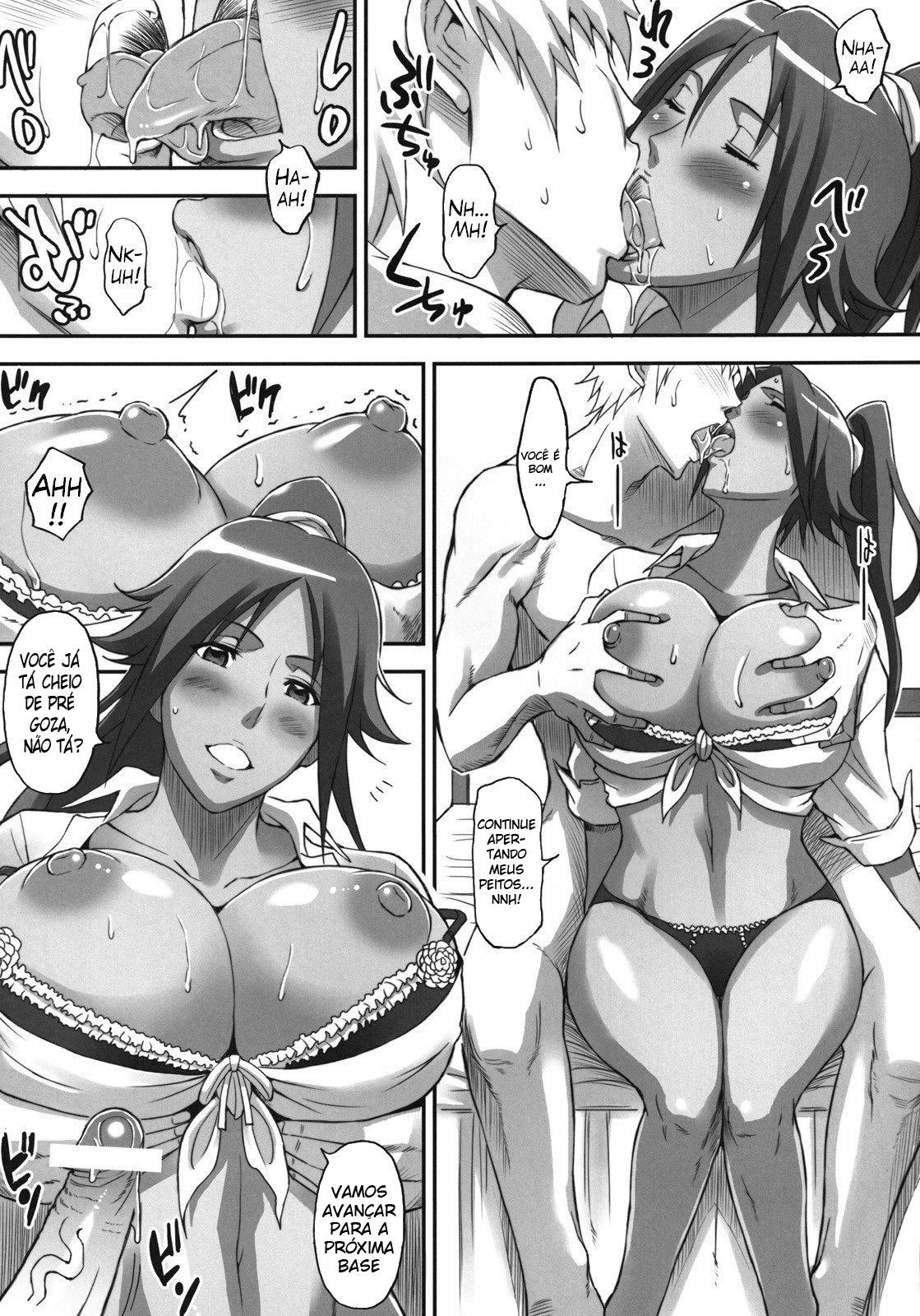 Bleach Pornô: Shinigamis com orgasmos - Foto 6
