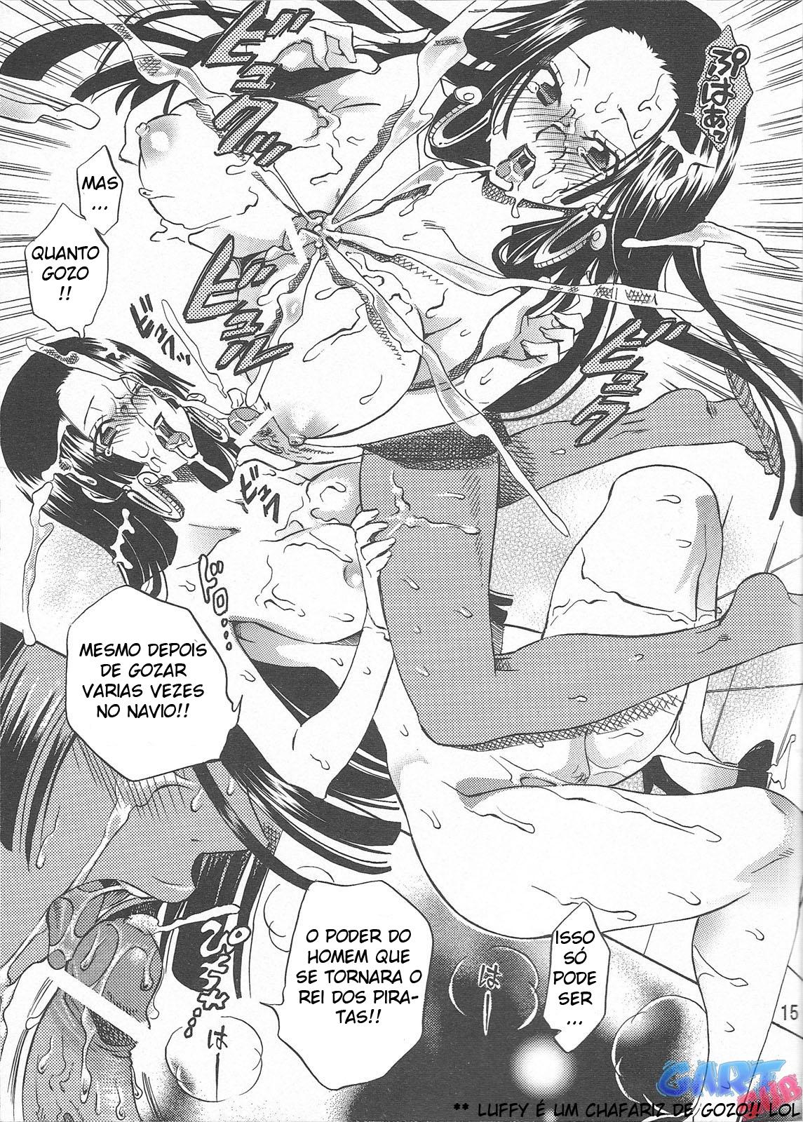 Luffy comendo Boa Hancock - Foto 14