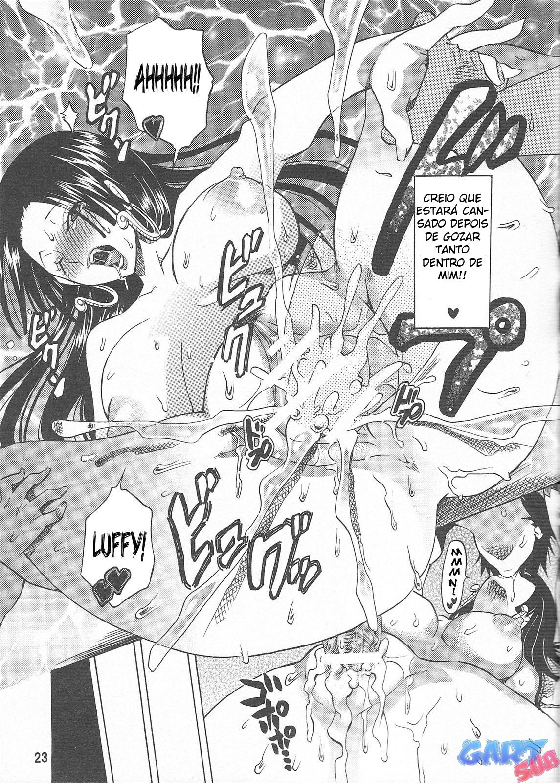 Luffy comendo Boa Hancock - Foto 22