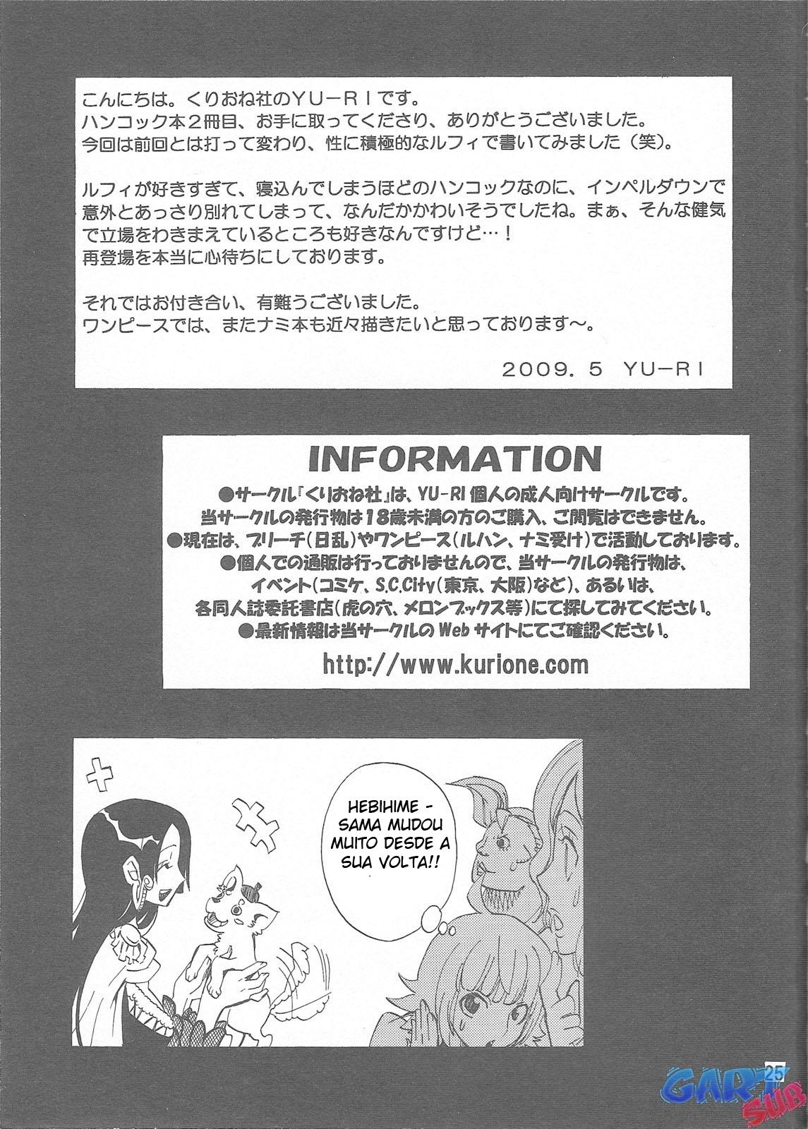 Luffy comendo Boa Hancock - Foto 24