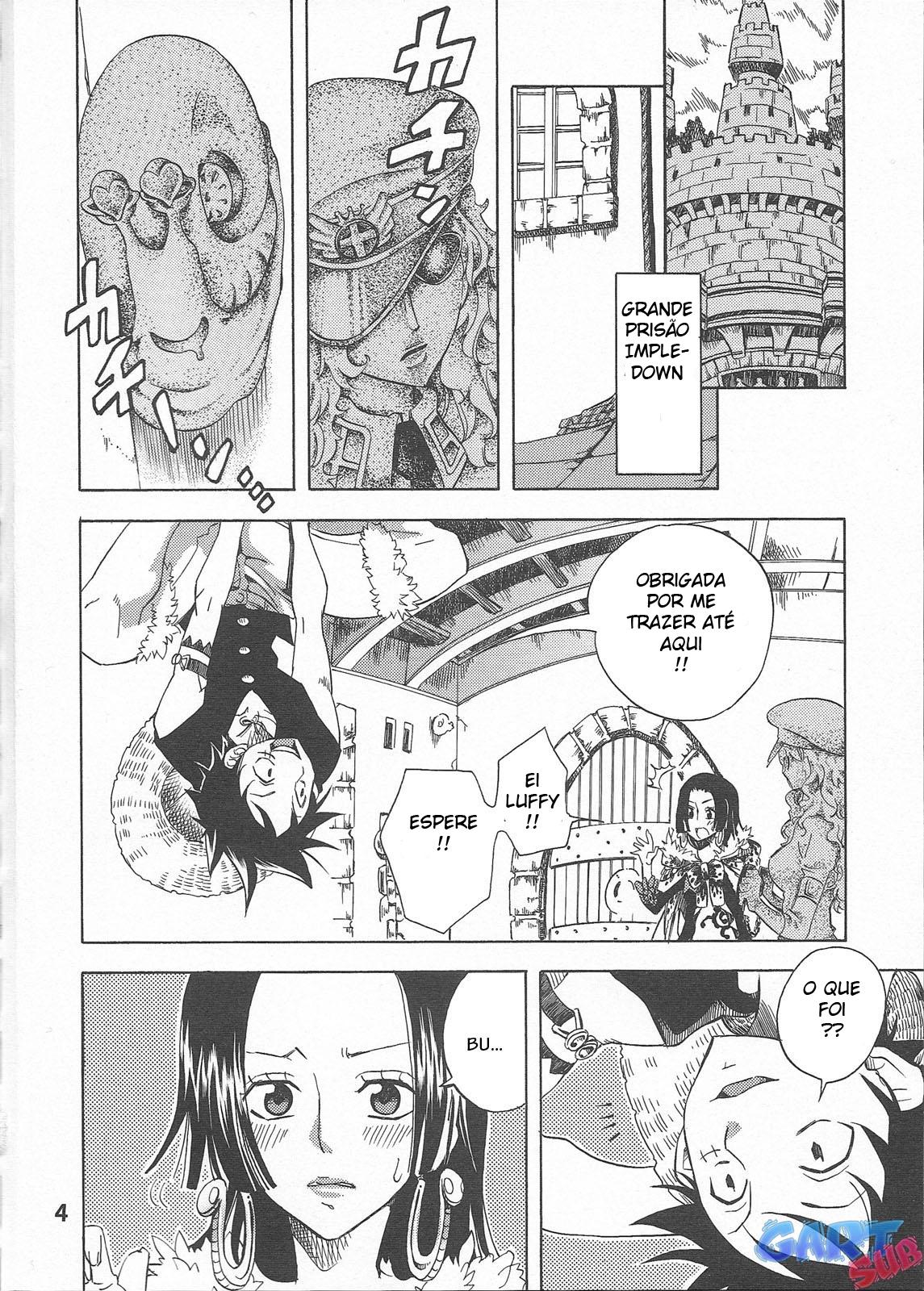 Luffy comendo Boa Hancock - Foto 3