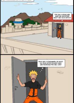 Naruto gozando na mamãe