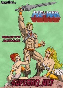 He-Man Quadrinhos de Sexo