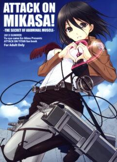 Shingeki no Kyojin Hentai: A emboscada da virgem Mikasa
