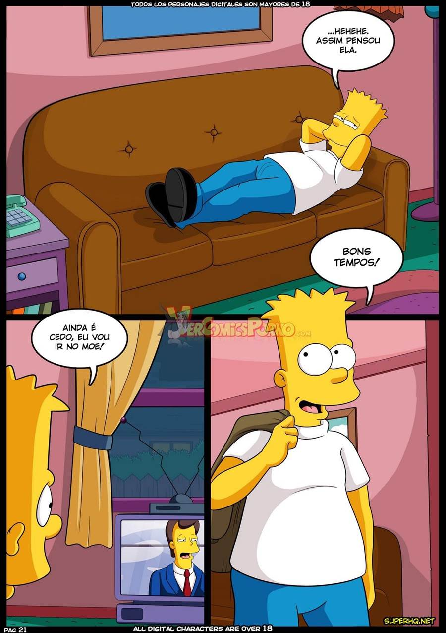 Bart no seu dia de sorte - Foto 22