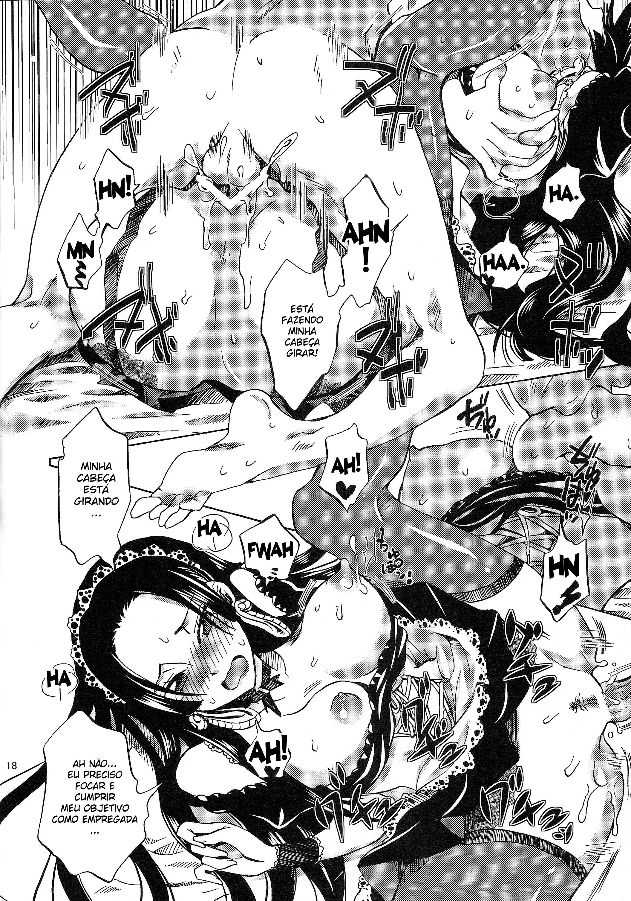 Eu sirvo ao meu amado Luffy! - Foto 16