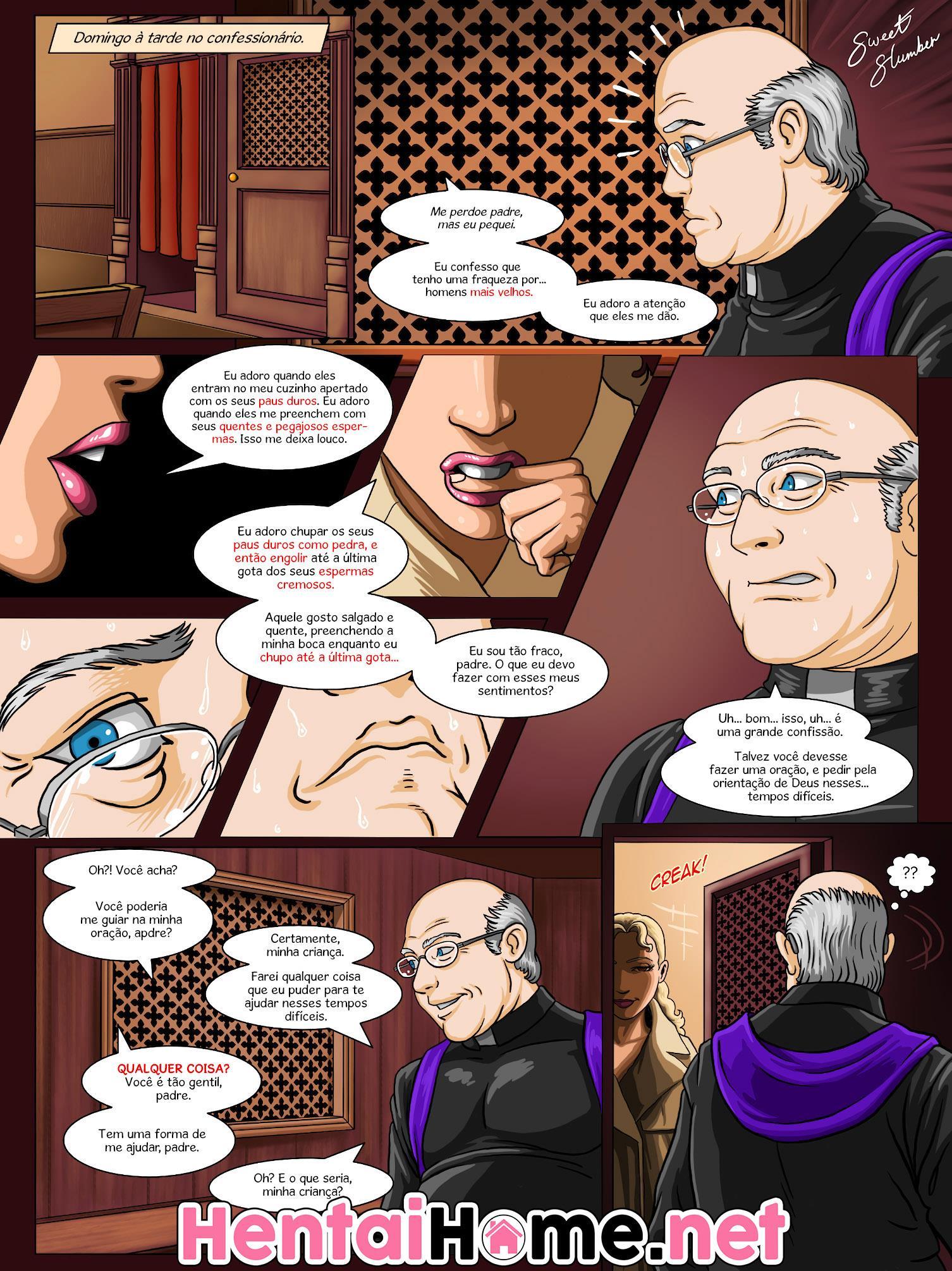 O padre pagando seu pecado - Foto 1