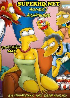 A noite ruim de Homer