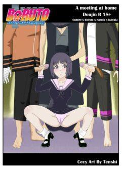 Boruto x Sumire x Naruto