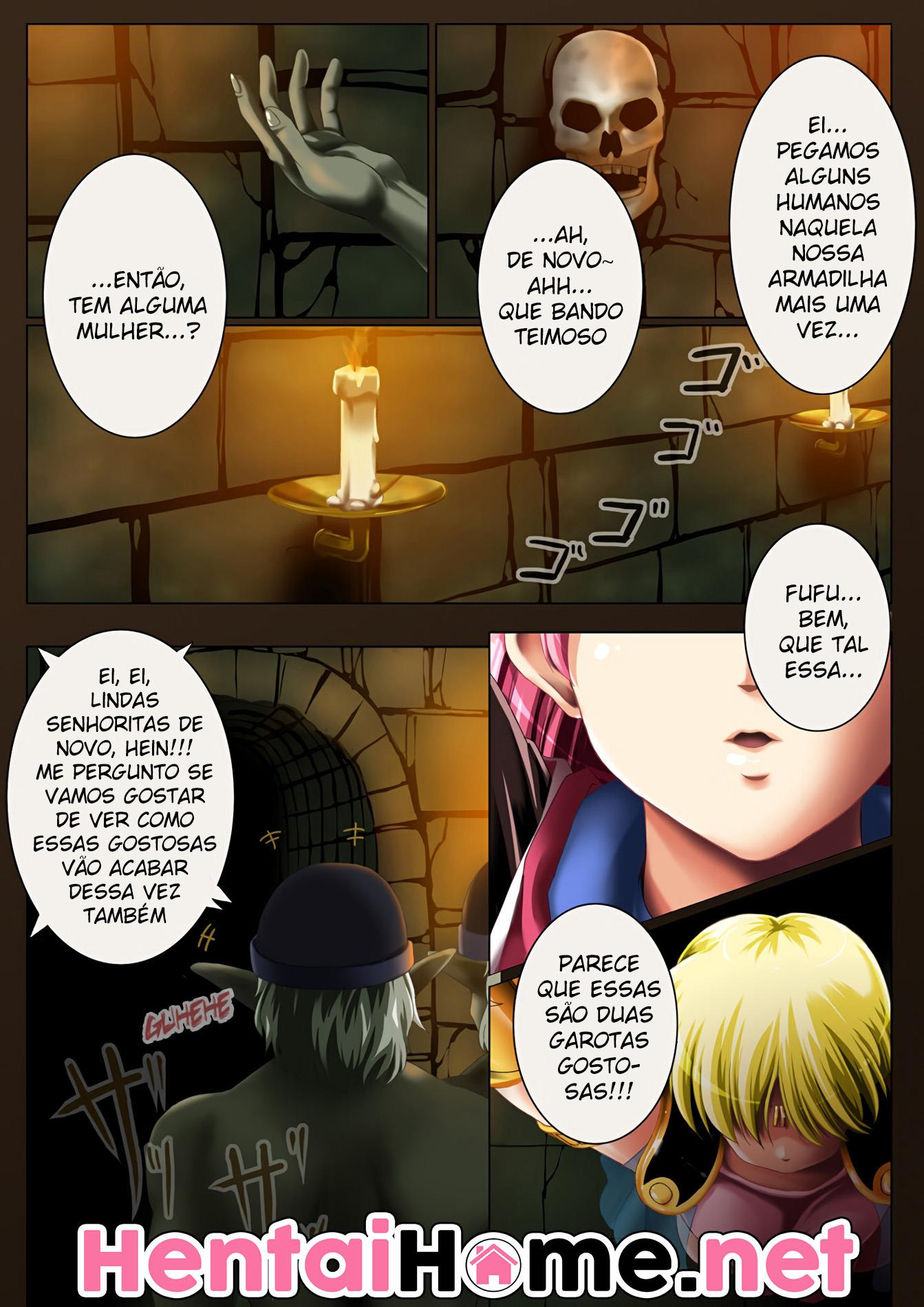 Dragon Quest: Dai no Daiboken Hentai - O prazer de Maan - Foto 3