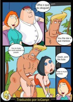 Family Guy HQ Quadrinhos Eróticos